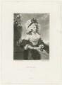 Anne Williams Hope (née Goddard, later Baroness von Dopff), by Samuel William Reynolds, or by  Samuel William Reynolds Jr, published by  Henry Graves & Co, after  Sir Joshua Reynolds - NPG D35978