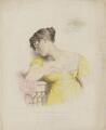 Elizabeth ('Eliza') (née O'Neil), Lady Wrixon-Becher when Miss O'Neill as Juliet, by Frederick Christian Lewis Sr, after  George Dawe - NPG D35813