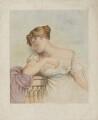 Elizabeth ('Eliza') (née O'Neil), Lady Wrixon-Becher when Miss O'Neill as Juliet, by Frederick Christian Lewis Sr, after  George Dawe - NPG D35814