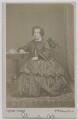 Eliza Cook, by Frederick William Evans - NPG Ax7545