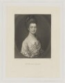 Anne Egerton (née Lindsay), by James Scott, published by  Henry Graves & Co, after  Thomas Gainsborough - NPG D36087