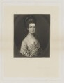Anne Egerton (née Lindsay), by James Scott, published by  Henry Graves & Co, after  Thomas Gainsborough - NPG D36088