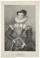 Lady Elizabeth Howard (née Dacre), by W.K. Ashford - NPG D36014