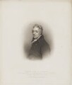 George Wyndham, 3rd Earl of Egremont, by John Samuel Agar, published by  T. Cadell & W. Davies, after  John Wright, after  Thomas Phillips - NPG D36129