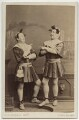 Charles Webb; Henry Berry Webb as the Dromio Twins in 'The Comedy of Errors', by Southwell Brothers - NPG x27313