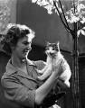 Gloria Jean Irene Dunn (née Hill), Lady Cottesloe, by Ida Kar - NPG x88670