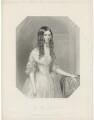Lady Mary Fitzalan Howard, by William Finden, printed by  McQueen (Macqueen), published by  T.G. March, after  P. Holmes - NPG D36020