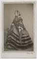 Emily Mary ('Amelia') (née Lamb), Viscountess Palmerston, by Henry Hering - NPG Ax39789