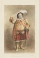 Robert William Elliston as Falstaff, by Thomas Charles Wageman, published by  William Kenneth - NPG D36167