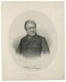 Joseph Hume, by George B. Black, published by  Ackermann & Co, after  John Jabez Edwin Mayall - NPG D36381