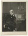 John Hunter, by and published by William Sharp, published by  Benjamin Beale Evans, published by  William Skelton, after  Sir Joshua Reynolds - NPG D36394