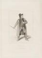 John Emery as Dandie Dinmont in Terry's 'Guy Mannering', by Joseph John Jenkins, printed by  E. Brain, published by  William McDowall, after  Samuel De Wilde - NPG D36179