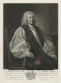 Matthew Hutton, by John Faber Jr, published by  Robert Wilkinson, after  Thomas Hudson - NPG D36425