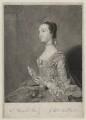 Jean or Jane Carmichael (née Vigor), Countess of Hyndford, by James Macardell, after  Sir Joshua Reynolds - NPG D36432