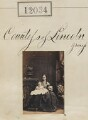 Lady Beatrice Adeline Lister-Kaye (née Pelham-Clinton); Henrietta Adela Pelham-Clinton (née Hope), Duchess of Newcastle, by Camille Silvy - NPG Ax61711