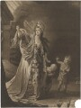 Mary Ann Yates in the character of Medea, by William Dickinson, after  Robert Edge Pine - NPG D36246
