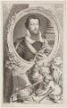 Robert Devereux, 2nd Earl of Essex, by Jacobus Houbraken, published by  John & Paul Knapton, after  Isaac Oliver - NPG D36563