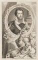 Robert Devereux, 2nd Earl of Essex, by Jacobus Houbraken, published by  John & Paul Knapton, after  Isaac Oliver - NPG D36564