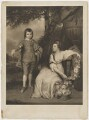 George Capell-Coningsby, 5th Earl of Essex; Elizabeth Monson (née Capel), Lady Monson, by and published by Charles Turner, after  Sir Joshua Reynolds - NPG D36573