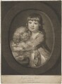 Sir Joseph Sydney Yorke aged three years, by Valentine Green, published by  John Boydell, after  Katharine Read - NPG D36256
