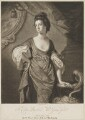 Agneta Yorke (née Johnson), by Valentine Green, published by  John Boydell, after  Francis Cotes - NPG D36259
