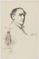 Sir Henry Irving, after Charles Buchel (Karl August Büchel), and after  John Hassall - NPG D36457