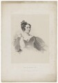 Anna Brownell Jameson (née Murphy), by Richard James Lane, printed by  Graf & Soret, after  Henry Perronet Briggs - NPG D36484