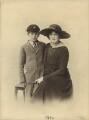 Stephen Tennant; Pamela Grey (née Wyndham, later Lady Glenconner), Viscountess Grey of Fallodon, by Unknown photographer - NPG x132857
