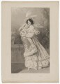 Sarah Sophia Child-Villiers (née Fane), Countess of Jersey, by Frederick Christian Lewis Sr, after  Alfred Edward Chalon - NPG D36513