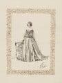 Frances Elizabeth Jocelyn (née Cowper), Viscountess Jocelyn, by Unknown artist - NPG D36523