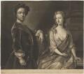 Christian Frederich Zincke; Elizabeth Zincke (née Bothmar), by John Faber Jr, after  Hans Hysing - NPG D36280