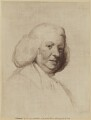 Unknown man, formerly known as Samuel Johnson, published by C. Eskell van Noorden - NPG D36537