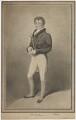 Richard Jones as Flutter in Hannah Cowley's 'The Belle's Stratagem', by Henry Meyer, after  Samuel De Wilde - NPG D36723