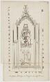 Monument of Sir George Felbrigge, after Jacob Schnebbelie - NPG D36682