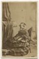 Selina (née Hayes), Lady Fitzwygram, by Unknown photographer - NPG Ax46431