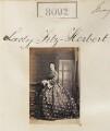 Annie (née Alleyne), Lady Fitzherbert, by Camille Silvy - NPG Ax132877