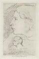 John Keats, by Arthur Dawson, after  Benjamin Robert Haydon - NPG D36764