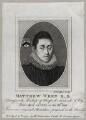 Matthew Wren, by (Benedictus) Antonio van Assen, published by  William Richardson - NPG D37002