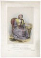 Frances Maria Kelly as Mrs Parthian, by Francis William Wilkin, printed by  Graf & Soret, published by  Ackermann & Co - NPG D36779