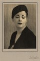 Harriet Cohen, by Kay Vaughan - NPG x39284