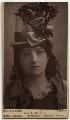 Miss L. Wilson, by Boning & Small (Robert Boning & Charles James Small) - NPG x27474