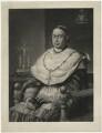 Nicholas Patrick Stephen Wiseman, by John Rogers Herbert, after  George Raphael Ward - NPG D37068