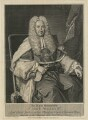 Sir John Willes, by and published by George Vertue, after  Jean Baptiste van Loo - NPG D37075
