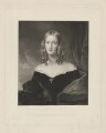 Hon. Frances Anna Georgiana Kinnaird (née Ponsonby), by George Zobel, published by  Paul and Dominic Colnaghi & Co, after  Sir Francis Grant - NPG D36881