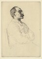 Rudyard Kipling, by William Strang, printed by  David Strang - NPG D36882