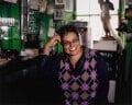 Jackie Kay, by Mary McCartney - NPG P1356