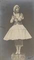 Lydia Lopokova in 'Petrouchka', by Emil Otto ('E.O.') Hoppé - NPG P1351