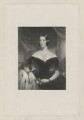 Mrs Knatchbull, by William Henry Egleton, after  John Wood - NPG D36897