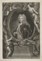 Sir Godfrey Kneller, Bt, by John Faber Jr, published by  John Cooper, after  John Vanderbank, after  Sir Godfrey Kneller, Bt - NPG D36901