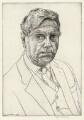 Kenneth John Garlick, by Edgar Holloway - NPG D37803